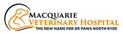 Macquarie Veterinary Hospital Logo